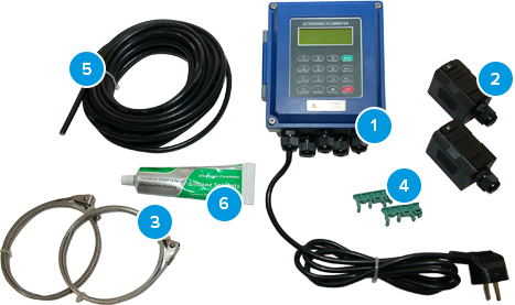 stationary flowmeters kit num