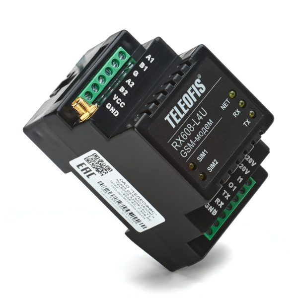 gsm modem teleofis rx608 l4u v.2 1